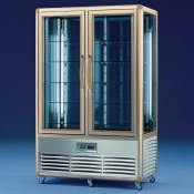 Tecfrigo Continental 700 G: 700Ltr Continental Chilled Patisserie Display with Glass Shelves