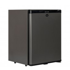Tefcold TM42: Black Solid Door Minibar Fridge - 41Ltr
