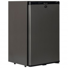 Tefcold TM52: Black Solid Door Minibar Fridge - 51Ltr
