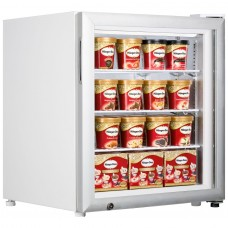 Tefcold UF100G: 90Ltr Countertop Glass Door Display Freezer