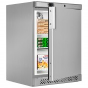 Tefcold UF200VS: 120Ltr Undercounter Commercial Freezer - Stainless Steel
