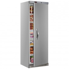 Tefcold UF400S: 400ltr Single Door Freezer - Stainless Steel