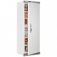 Tefcold UF400: 400ltr Single Door Freezer - White