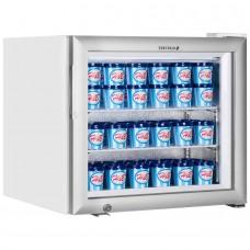 Tefcold UF50G: 50Ltr Countertop Glass Door Display Freezer