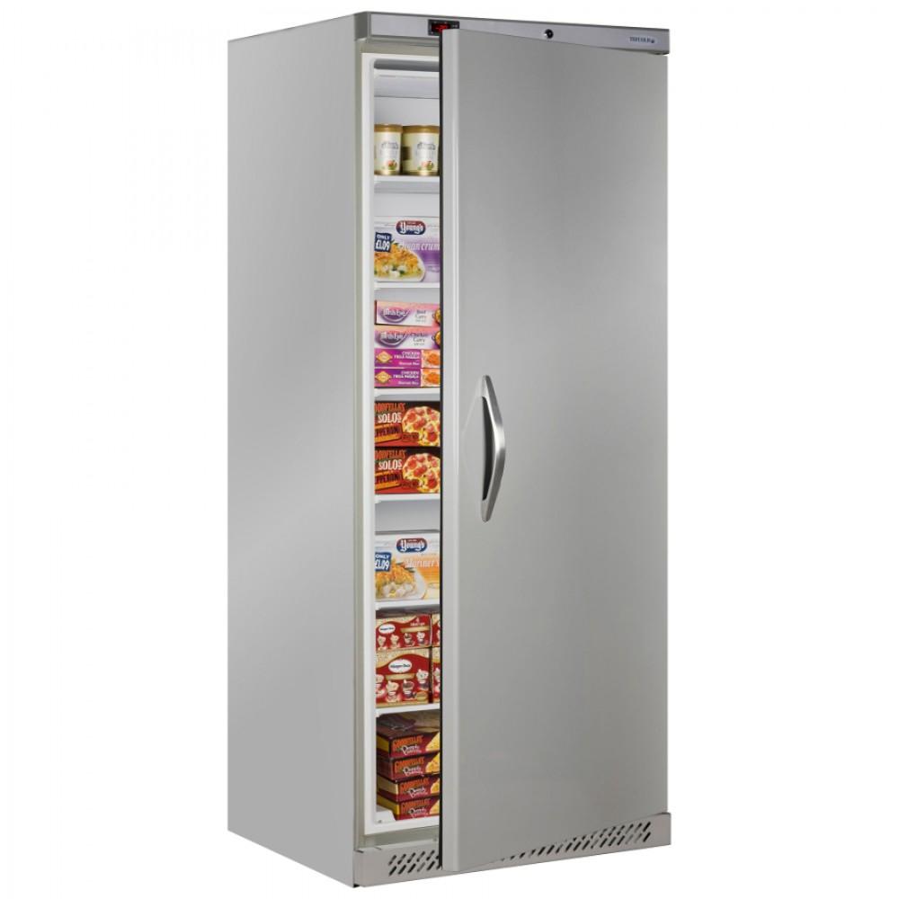 Tefcold uf600s 600ltr single door freezer stainless steel for 1 door freezer