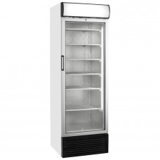 Tefcold UFG1450GCP: 480Ltr Glass Door Display Freezer