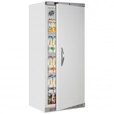 Tefcold UR600: 600ltr Single Door Refrigerator - White