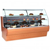 Frilixa Tejo II 11CW: 1.1m Wood Serve Over Counter for Patisserie
