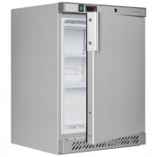 Tefcold UF200S: Stainless Steel Undercounter Commercial Freezer