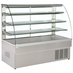 Trimco Zurich 150 SS Chocolate: Stainless Steel Chocolate Display