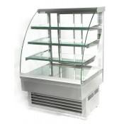 Igloo Jamaica JA130HS: 1.31m Heated Stainless Steel Pastry Case