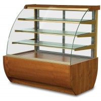 .Igloo Jamacia JA60HW: 0.7m Heated Pastry Case - Wood Finish