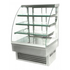 Igloo Jamaica JA90W: 0.9m Refrigerated Stainless Steel Pastry Case