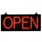 Code CC941: OPEN - CLOSED LED Display Sign