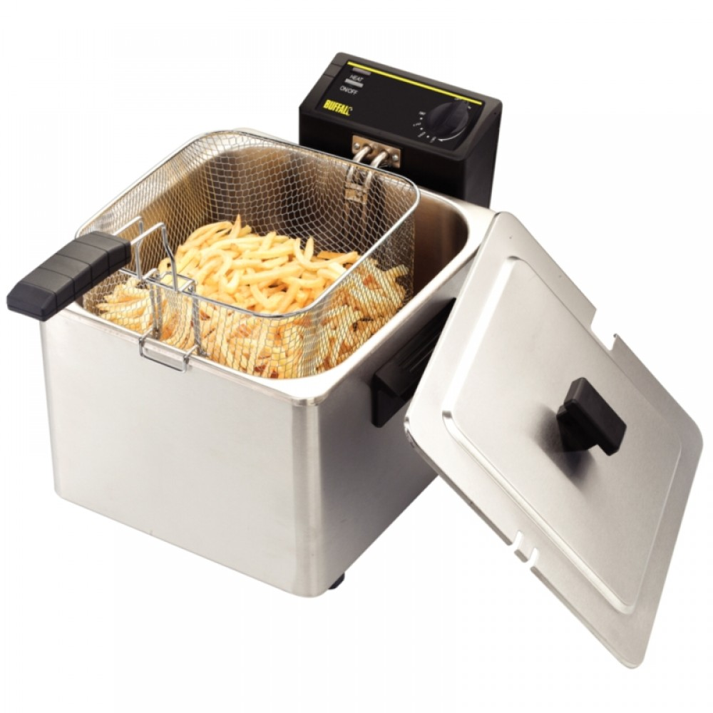 Countertop Dishwasher Reviews Uk : Cooking Appliances Fryers Countertop Fryers Caterlite CD274: 8Ltr ...
