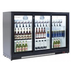Artikcold ALASKA BBC-133S: 285 Bottle Capacity Pub Beer Fridge - Sliding Doors