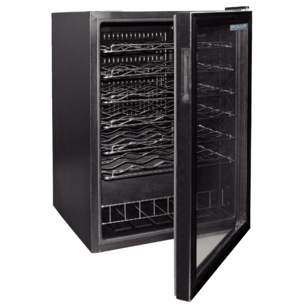polar ce204 130ltr undercounter wine cooler. Black Bedroom Furniture Sets. Home Design Ideas