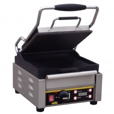 Buffalo L511: Single Contact Grill - Ribbed Top Plate