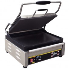 Buffalo L519: Large Single Contact Grill - Smooth Plates
