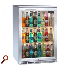 Blizzard BAR1SS: Stainless Steel Finish Back Bar Beer Fridge - ECA Approved