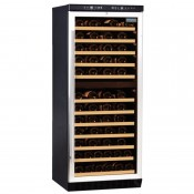 Polar CE217: Dual Zone Upright Wine Cooler - Up to 92 Bottles