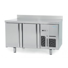 Infrico BMGN1470BT-09: 2 Door Gastronorm Freezer Back Bar Counter 700mm Deep - 295ltr