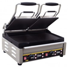 Buffalo L553: Double Contact Grill - Smooth Plates