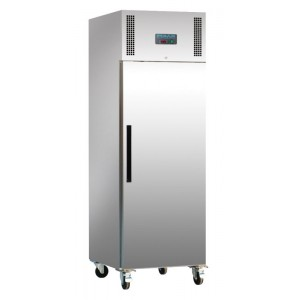 Polar G593: 600ltr Commercial Gastronorm Freezer in Stainless Steel - Medium Duty