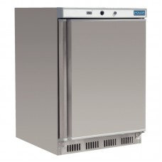 Polar CD081: Stainless Steel Undercounter Service Freezer