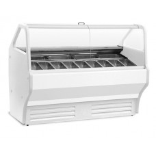 Igloo Gelatti 1000: Soft Scoop Ice Cream Display - 8 Pans
