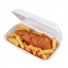CD938 Hinged Foam Meal Boxes