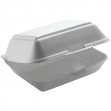 DL101 Small Hinged Foam Meal Box