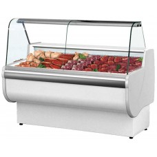 Igloo Rota 250M: 2.5m Low Temperature RAW MEAT Slimline Butchers Counter