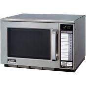 Sharp R22AT: 1500W Commercial Microwave Oven - Medium Duty