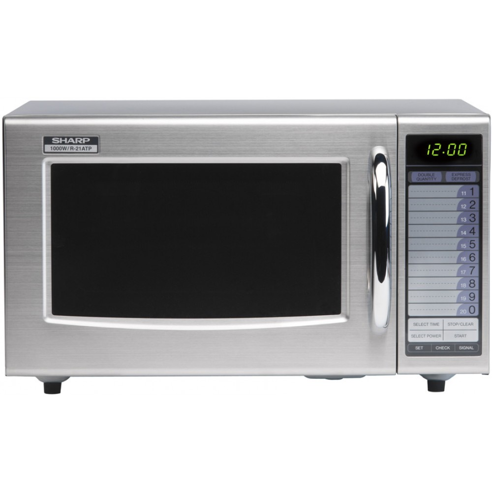 Sharp R21AT: 1000W Commercial Microwave Oven