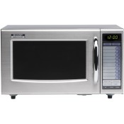 Sharp R21AT: 1000W Commercial Microwave Oven - Light Duty